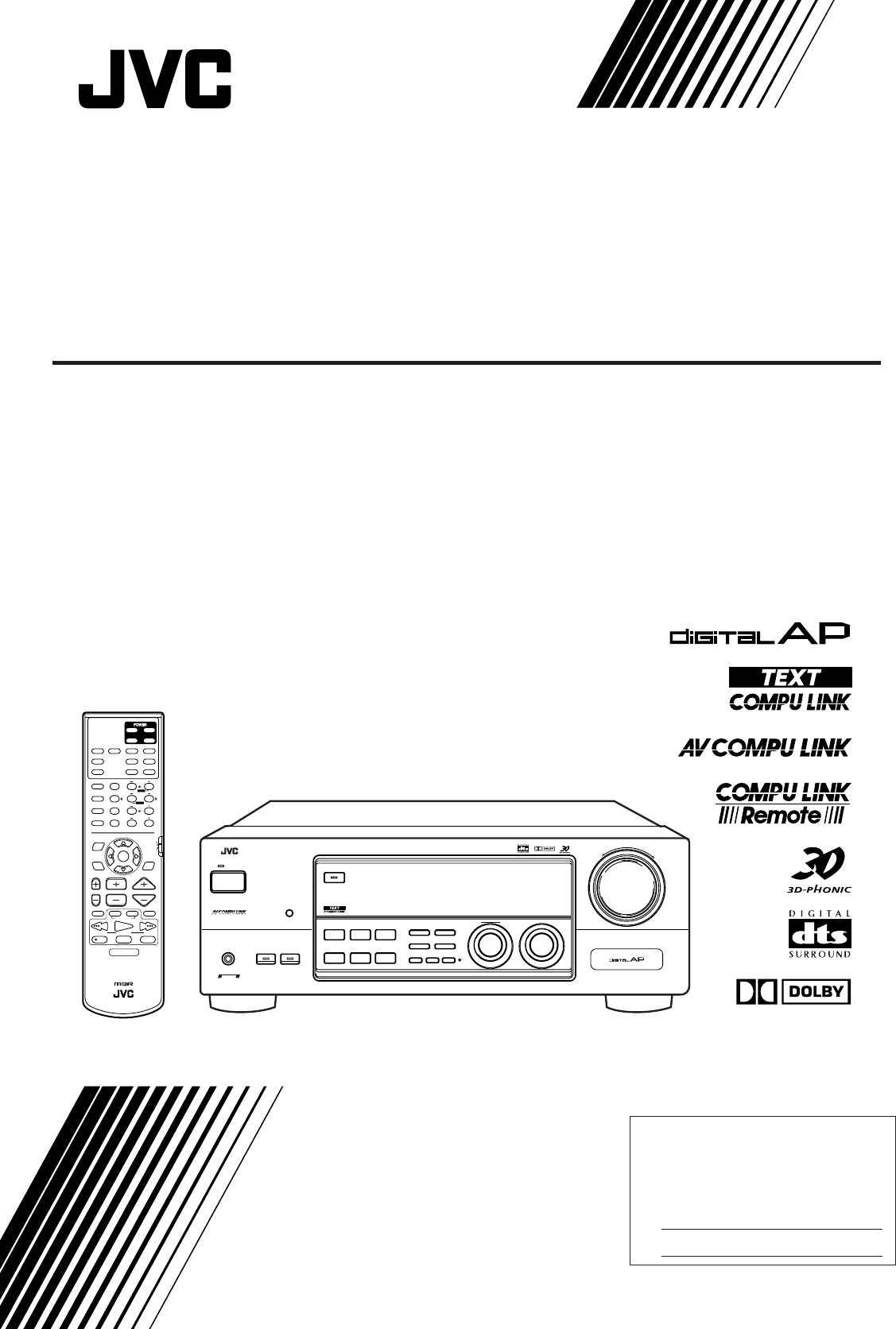 Jvc Home Receivers
