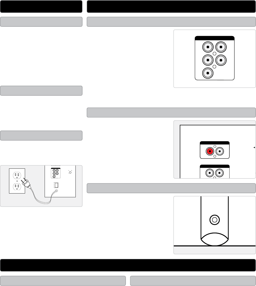 Page 2 of GPX Speaker System HT050B User Guide