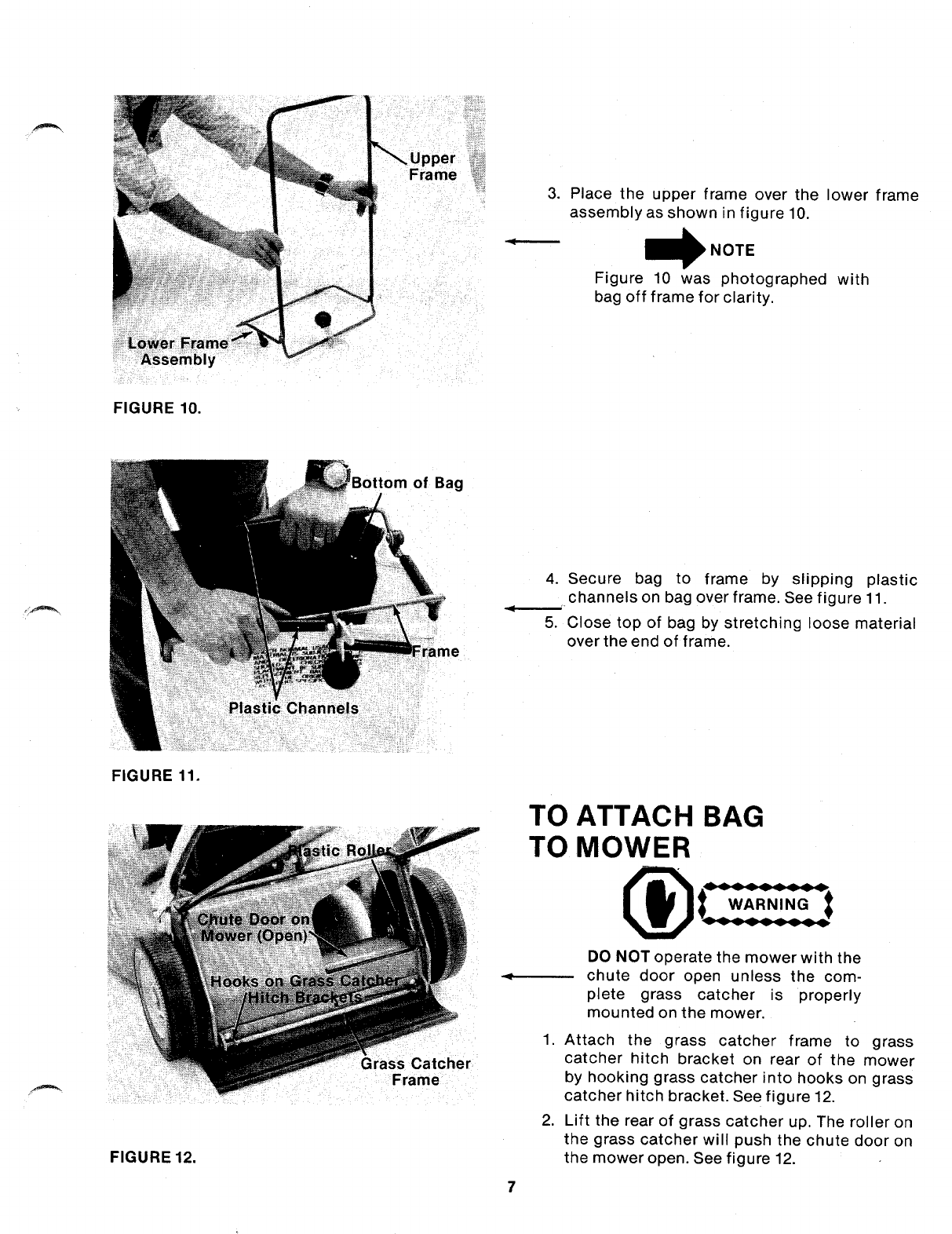 Page 7 of Bolens Lawn Mower 101-340A User Guide