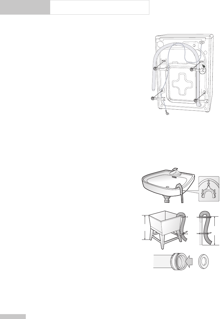 Page 8 of Samsung Washer/Dryer Owner's Manual User Guide