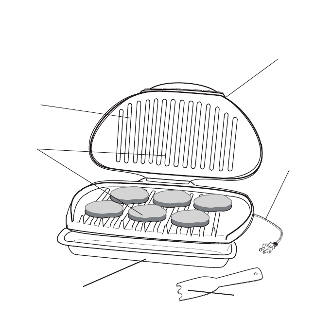 Page 3 of George Foreman Gas Grill GR1212 User Guide