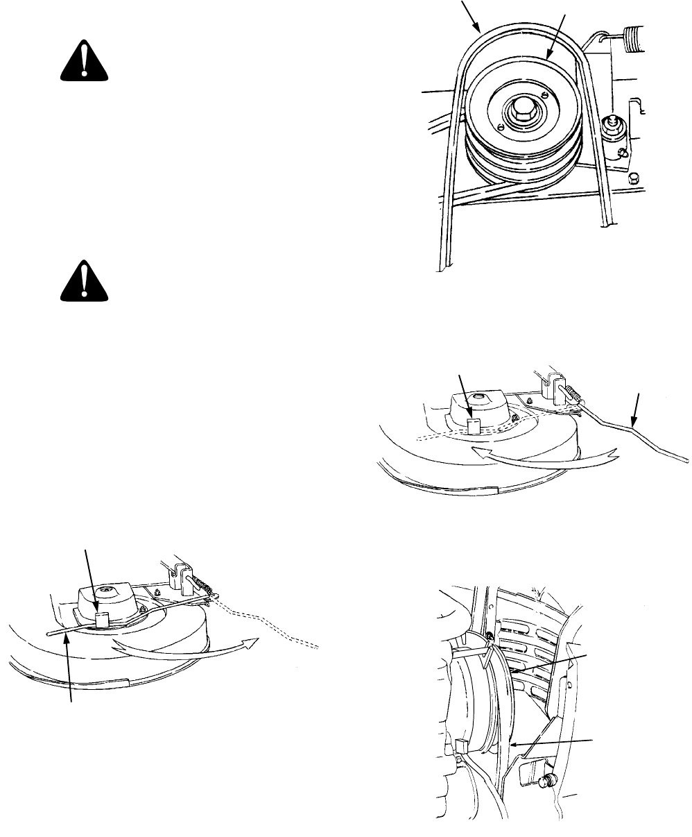 Page 37 of Cub Cadet Lawn Mower 2166 User Guide