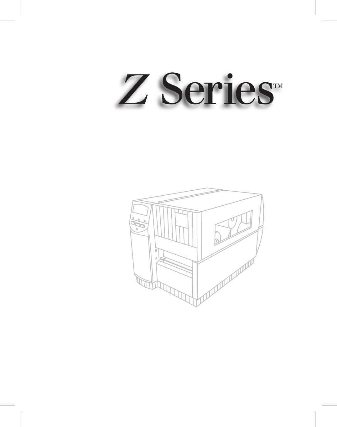 Zebra Technologies Printer Zebra Z4000 User Guide