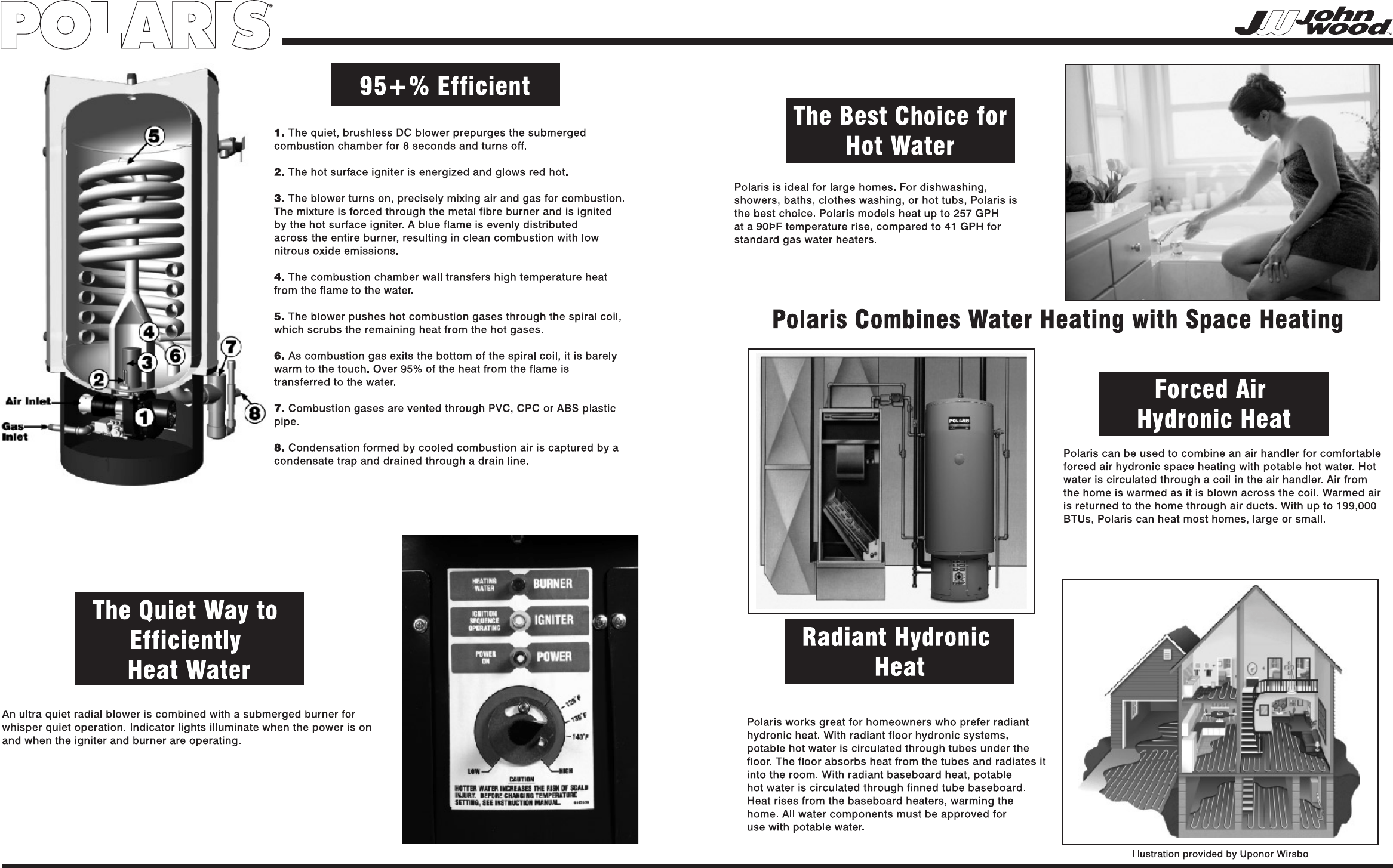Page 2 of Polaris Water Heater PR100-34-2NV User Guide