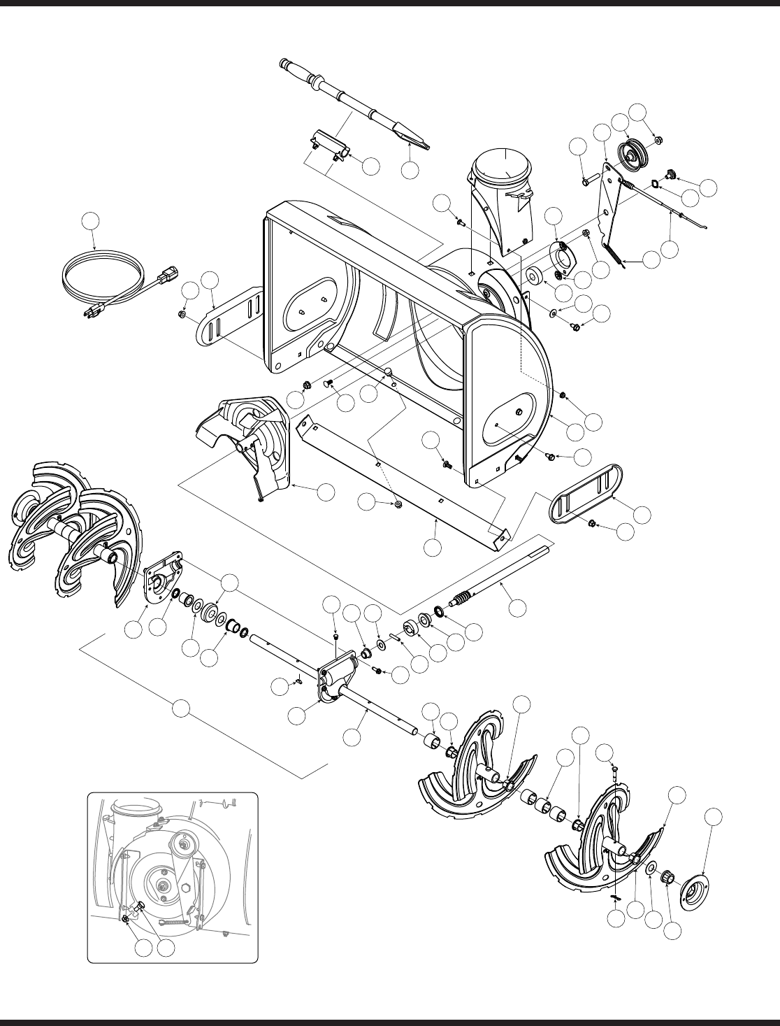 Page 20 of MTD Snow Blower L-Style User Guide