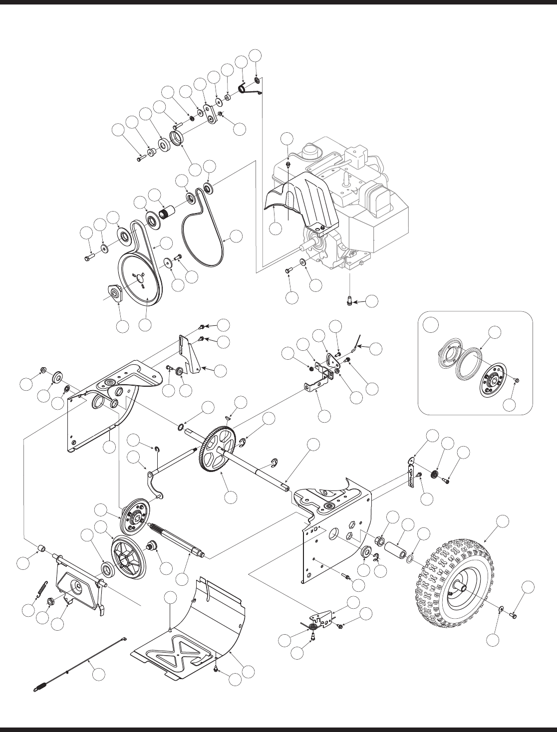 Page 24 of MTD Snow Blower L-Style User Guide