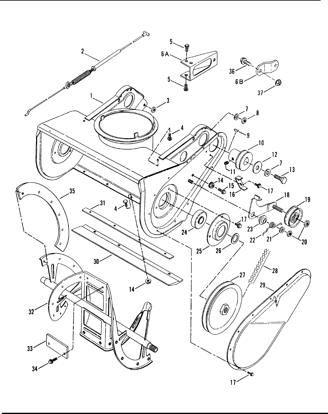 Page 6 of Snapper Snow Blower C3203 User Guide