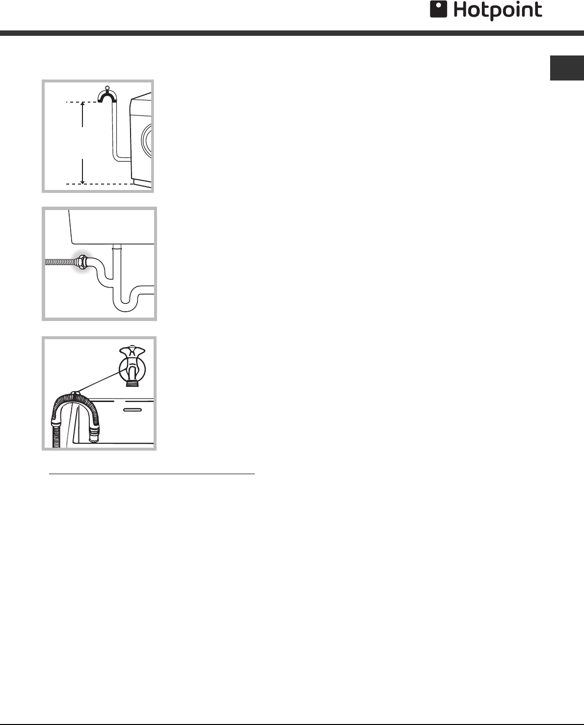 Page 3 of Hotpoint Washer/Dryer AQGMD149 User Guide