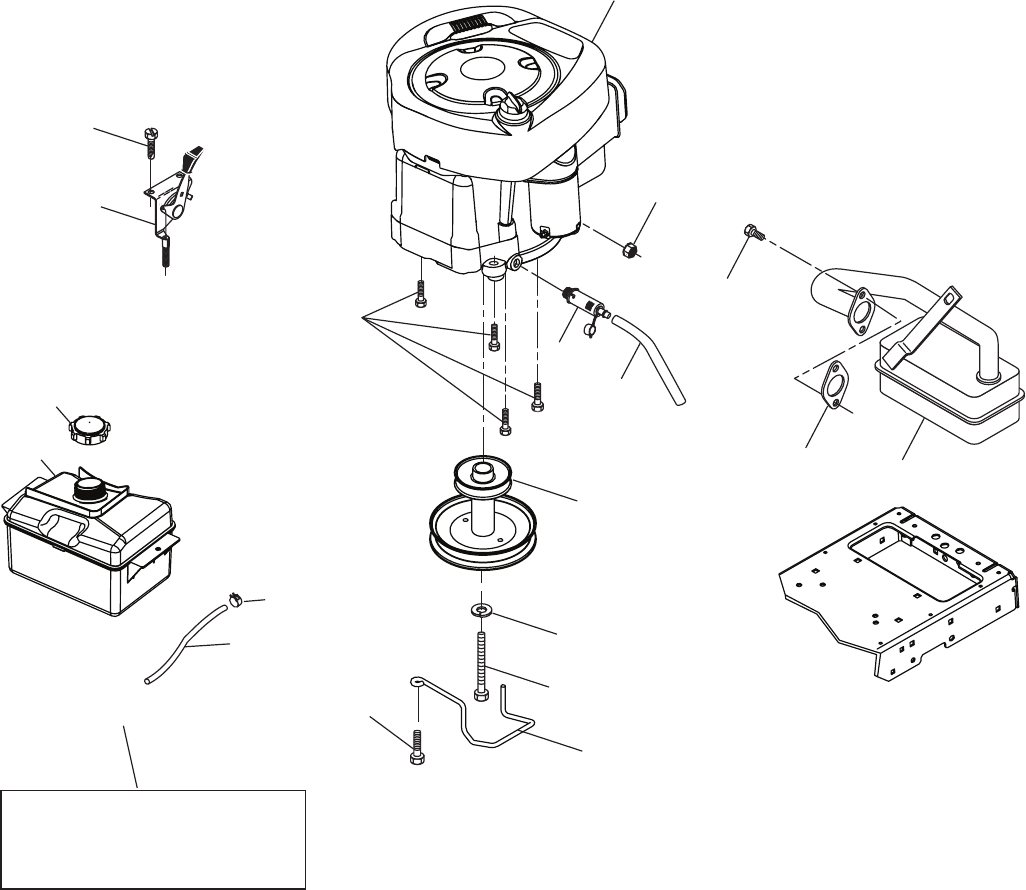 Page 38 of Poulan Lawn Mower pb19546lt User Guide