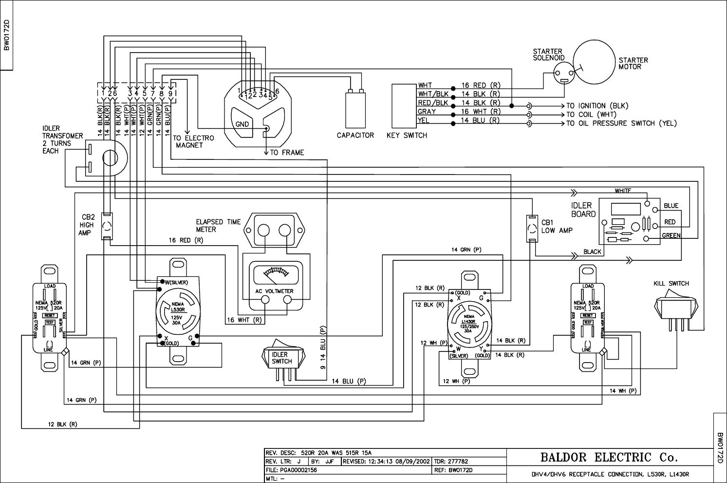Baldor Generator Wireing Diagram : 32 Wiring Diagram