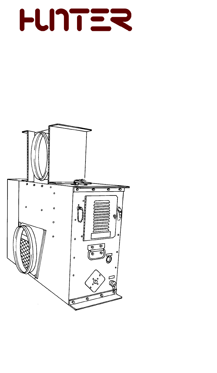 Hunter Fan Electric Heater UH68ODH User Guide