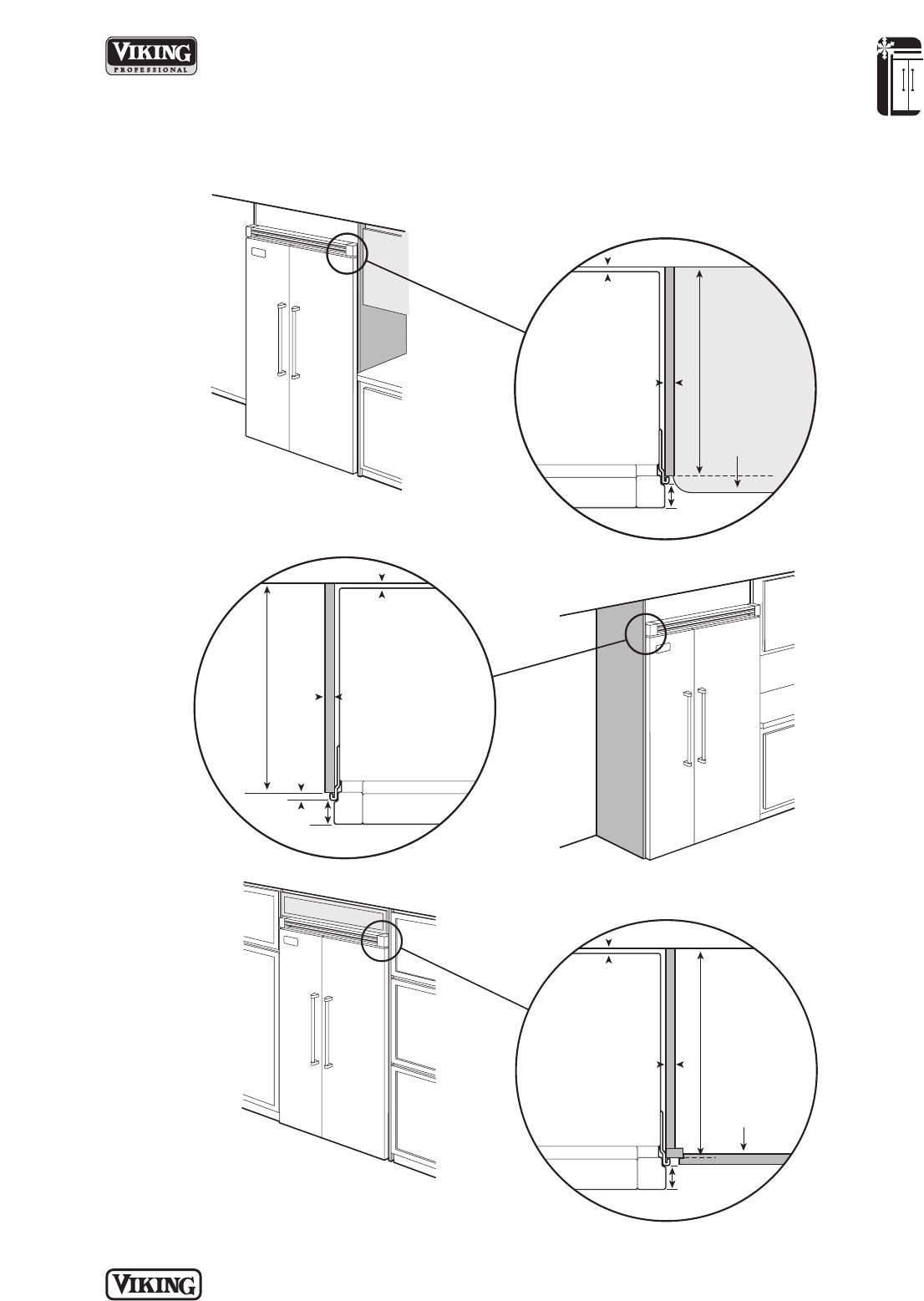 Page 5 of Viking Refrigerator VCSB483 User Guide