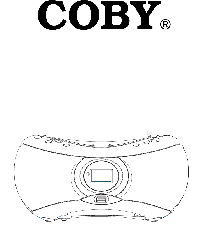 COBY electronic Portable Multimedia Player MP-CD475 User