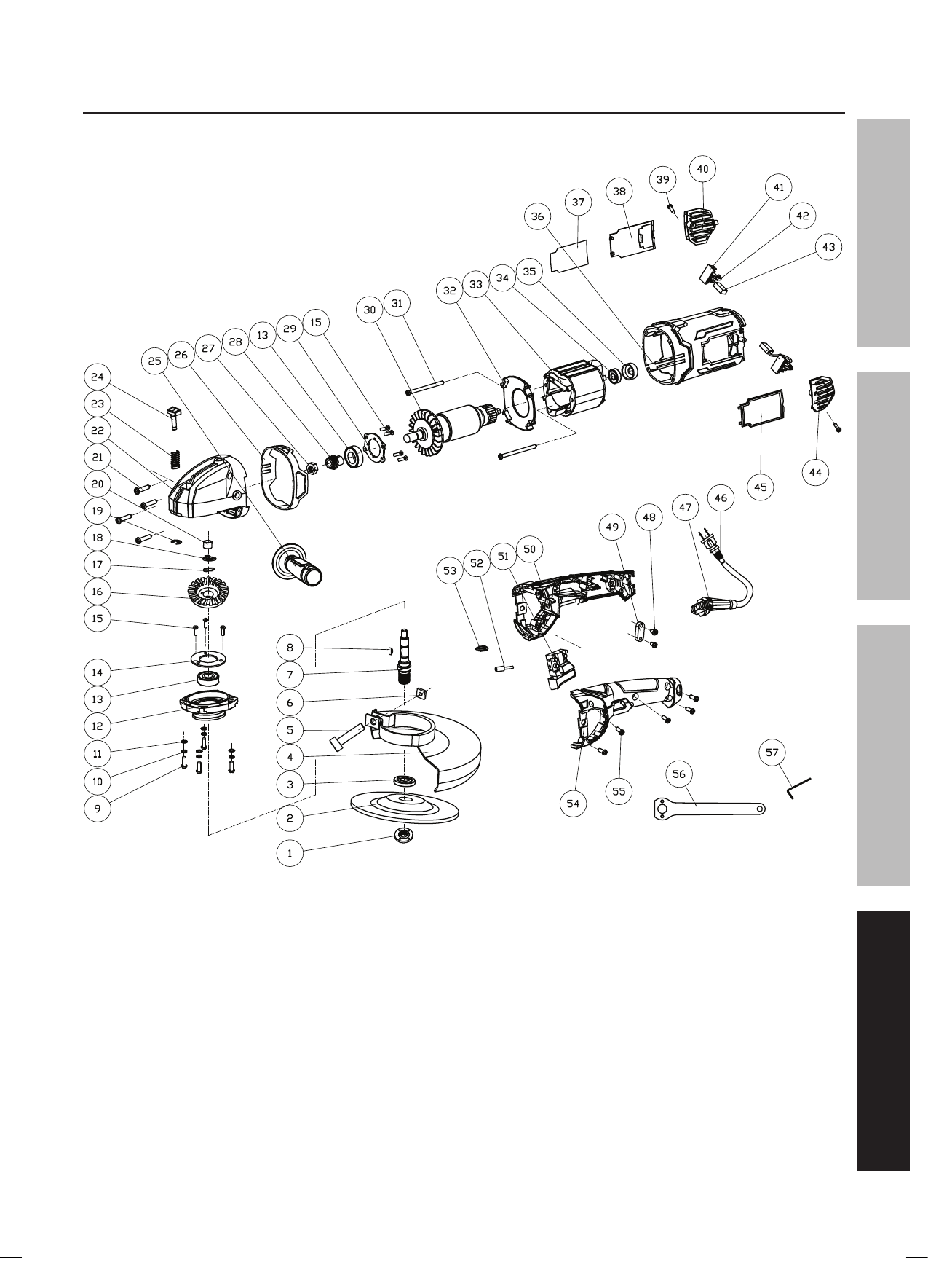 Page 19 of Chicago Electric Grinder 69454 User Guide