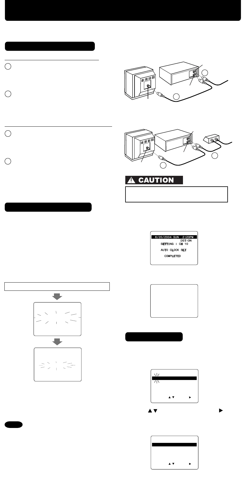 Page 4 of Panasonic VCR PV-V4624S User Guide