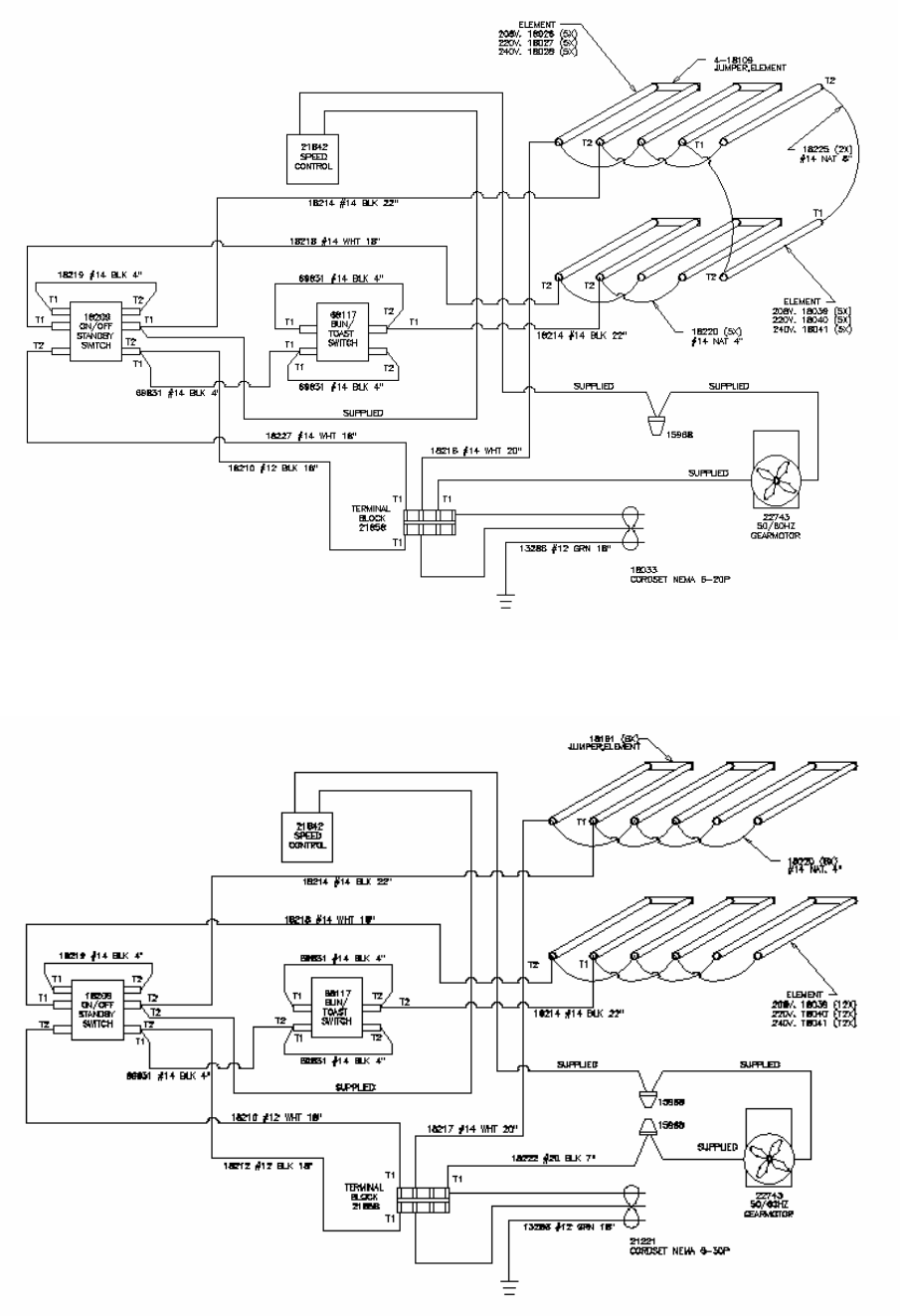 Page 8 of Merco Savory Toaster RT-2VSHO User Guide