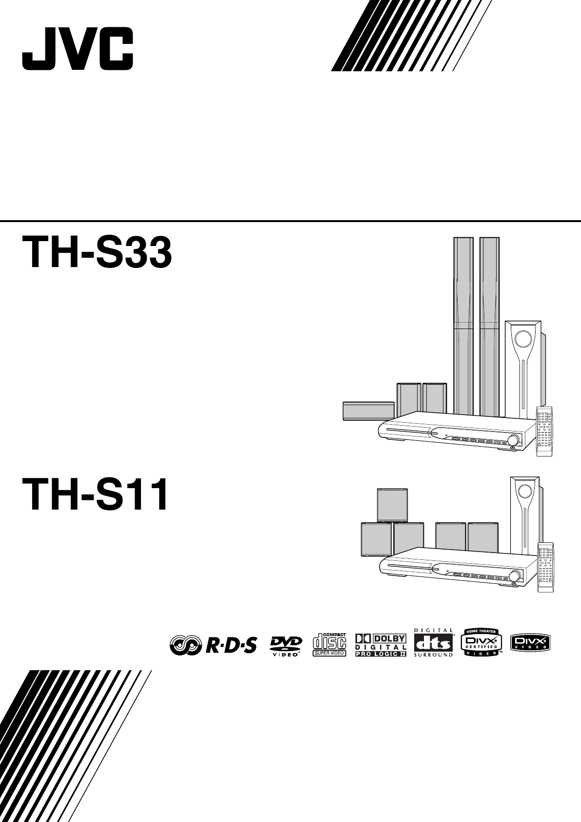 JVC Home Theater System XV-THS11 User Guide