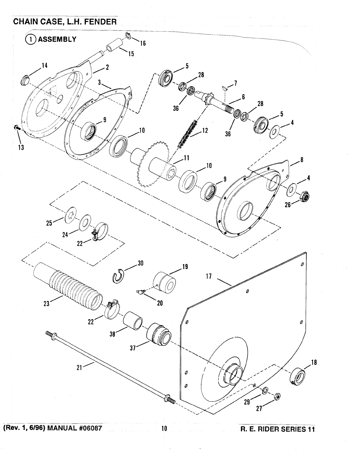 Page 10 of Snapper Lawn Mower Series 11 User Guide