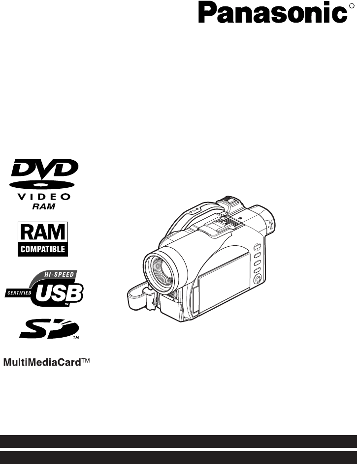 PANASONIC VDR-M50 MANUAL EBOOK