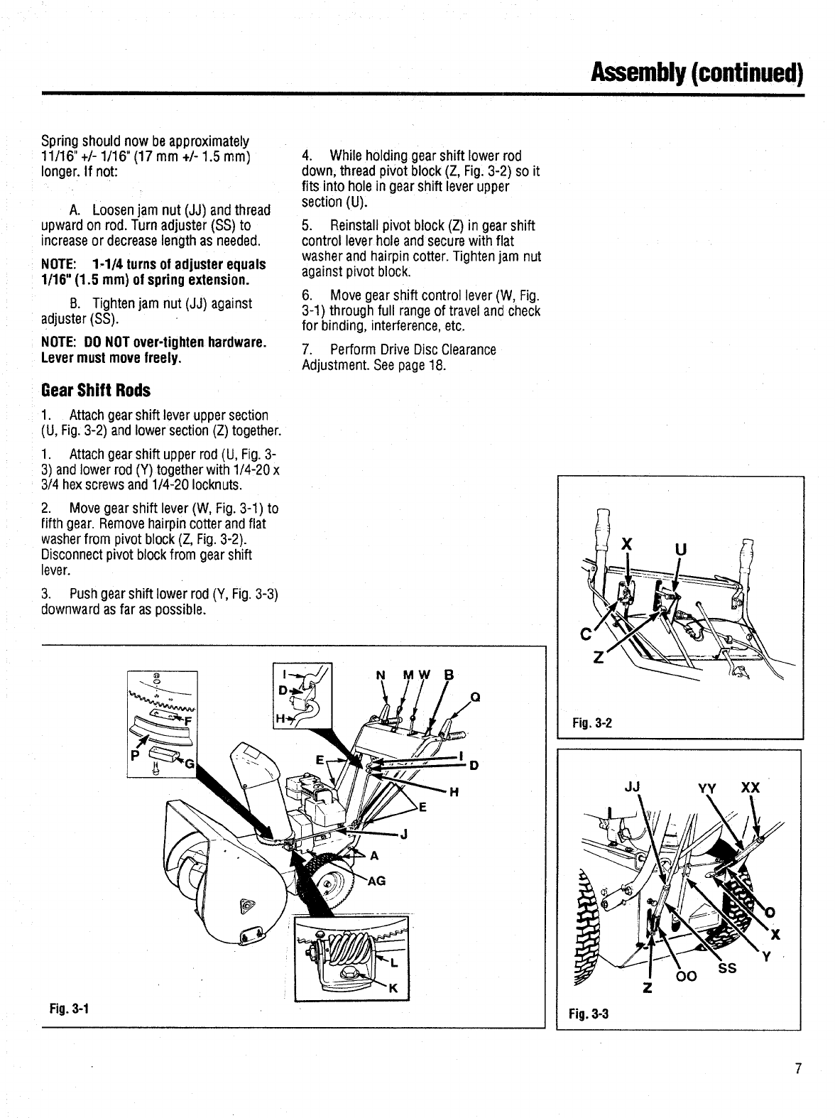 Page 9 of Bolens Snow Blower 1026 User Guide