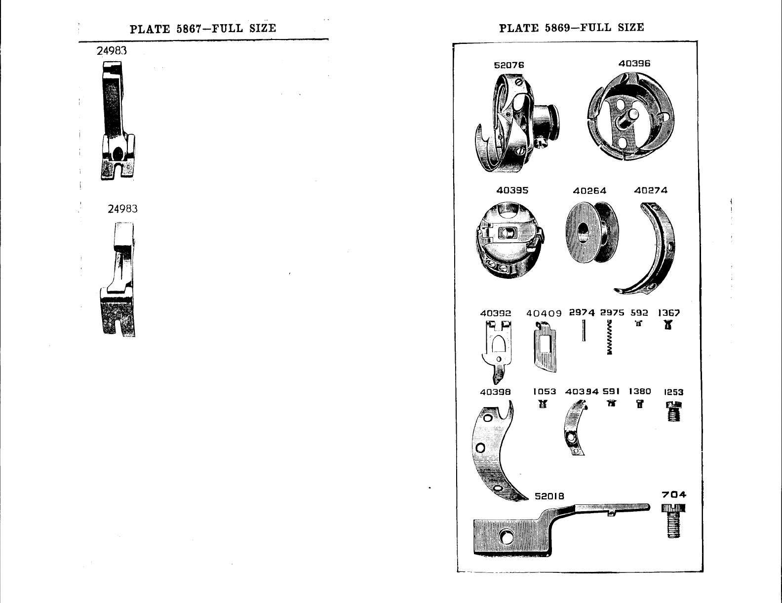 Page 40 of Singer Sewing Machine 96-10 User Guide