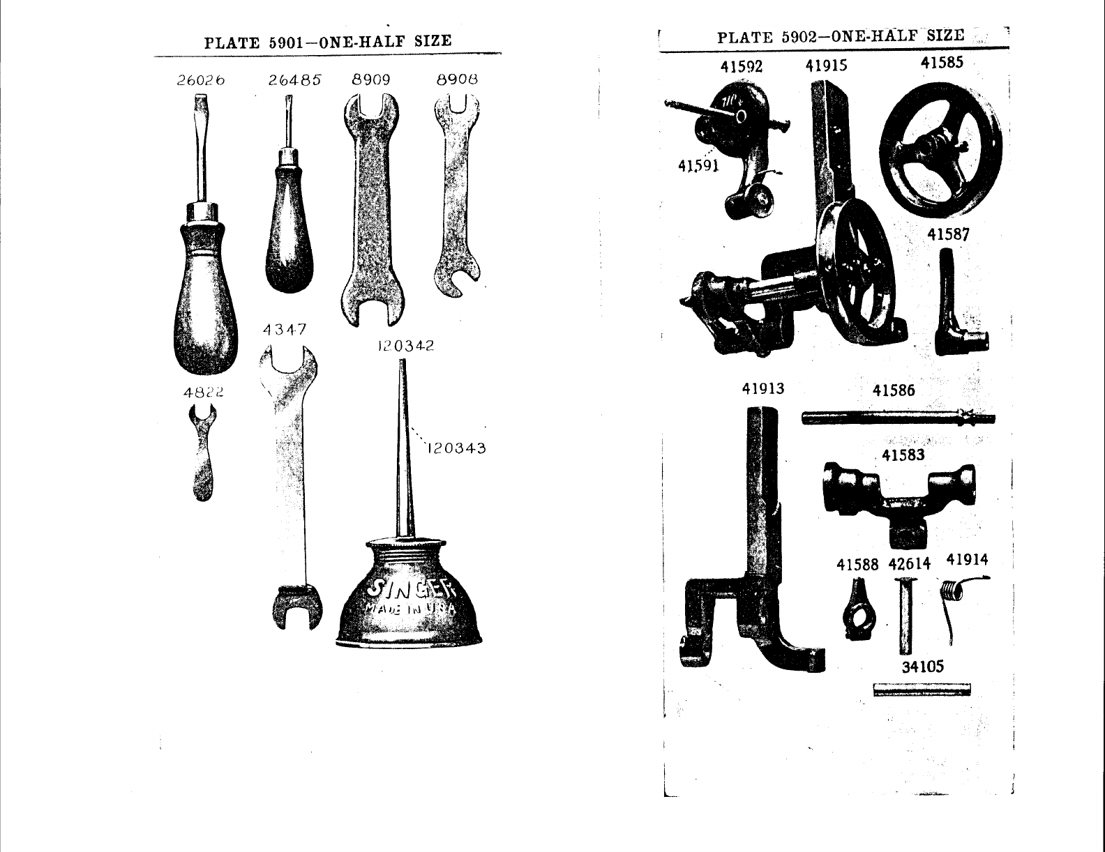 Page 46 of Singer Sewing Machine 96-10 User Guide