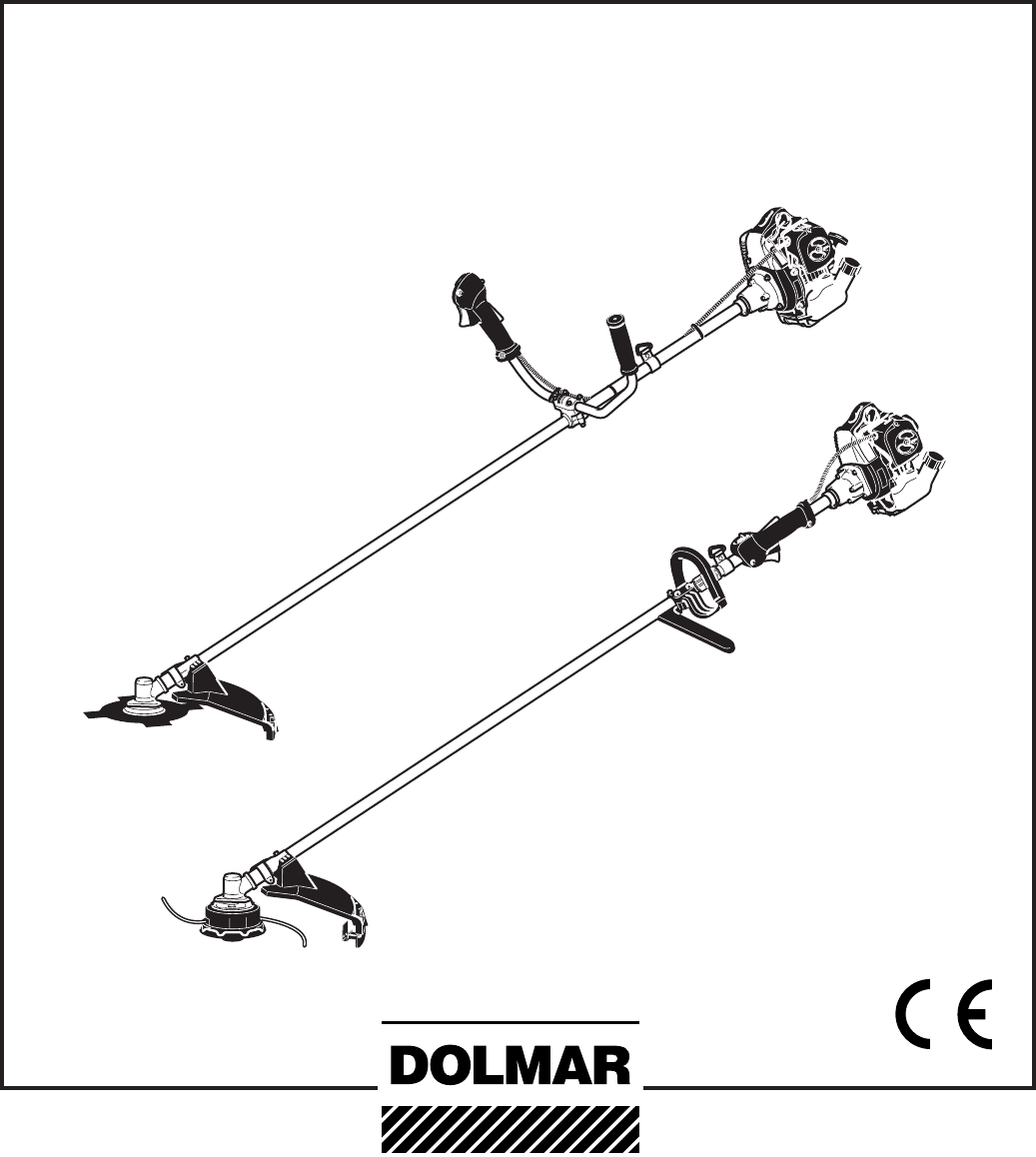 Dolmar Brush Cutter MS-260 U, MS-330 U, MS-430 U, MS-230 C