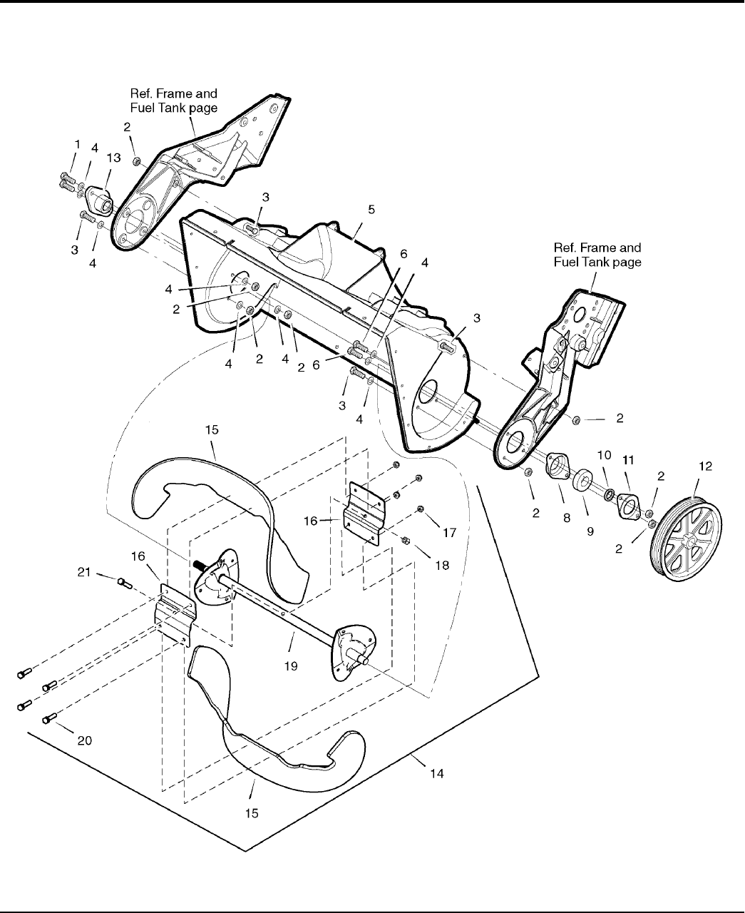 Page 16 of Simplicity Snow Blower 522EX User Guide