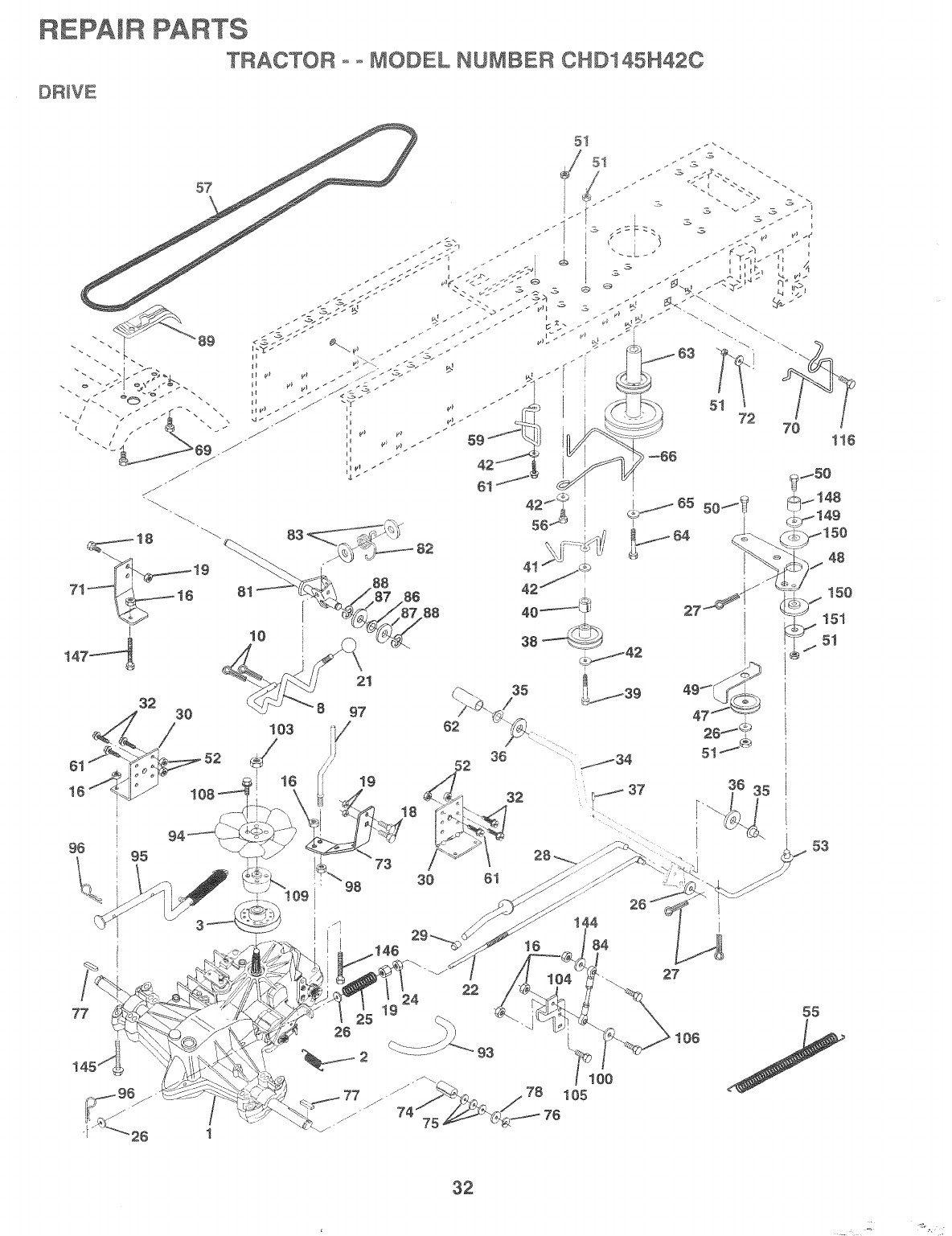 Page 30 of Poulan Lawn Mower 163598 User Guide