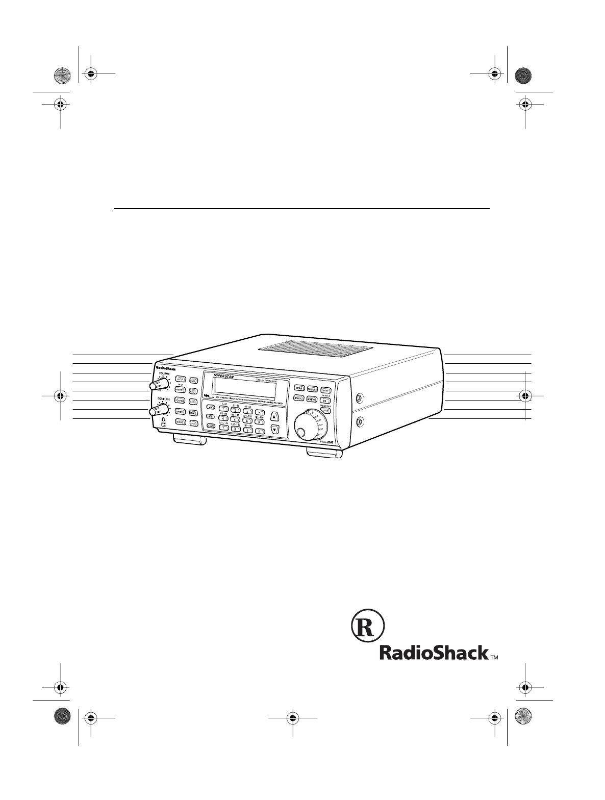 Radio Shack Weather Radio PRO-2045 User Guide
