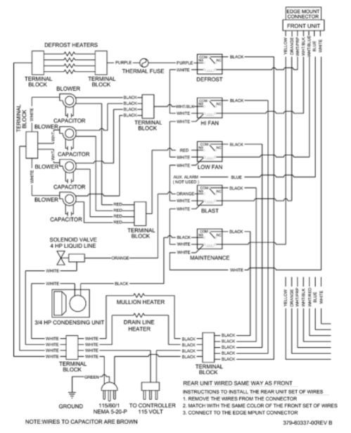 small resolution of page 25 of traulsen refrigerator rbc100 user guide manualsonline comx wiring diagram rbc400 u0026 rbc400rt