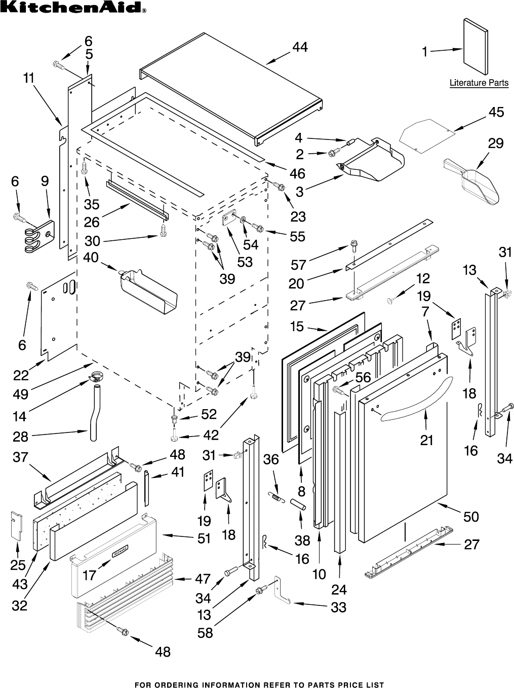 Whirlpool Side By Refrigerator Wiring Diagram, Whirlpool