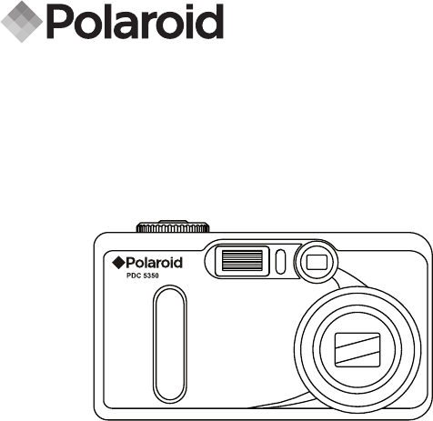 Polaroid Digital Camera PDC 5350 User Guide