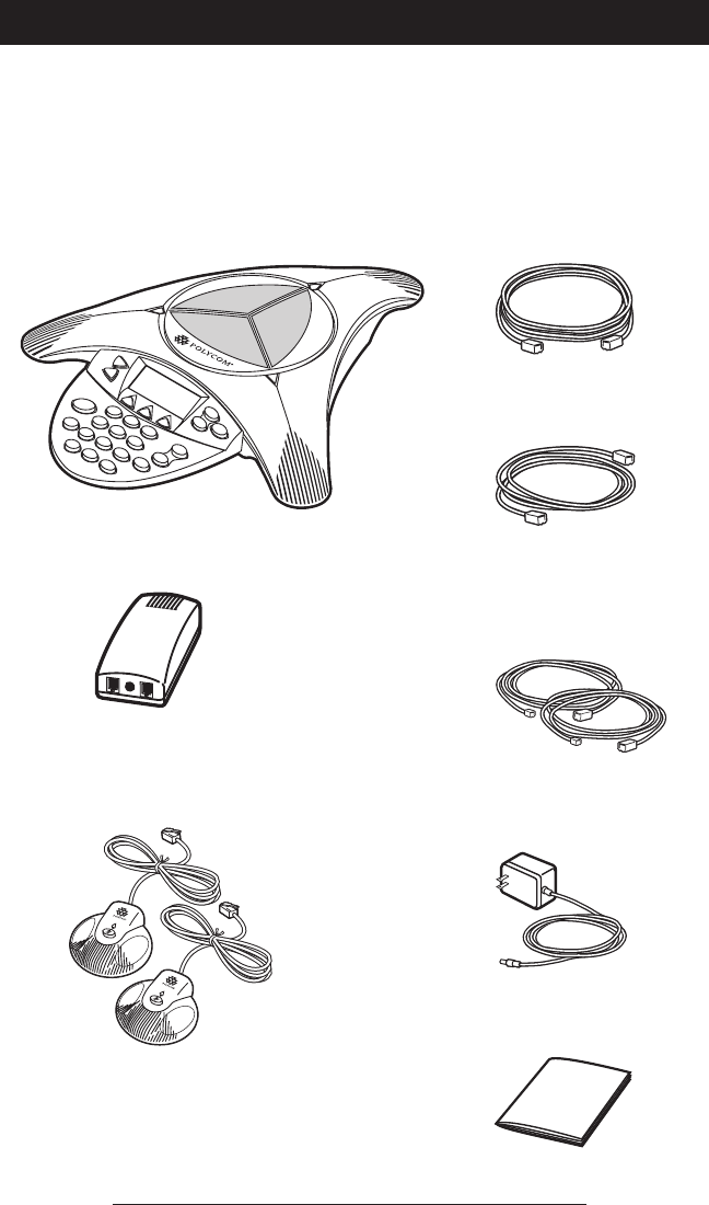 Page 6 of Polycom Telephone 2490 User Guide