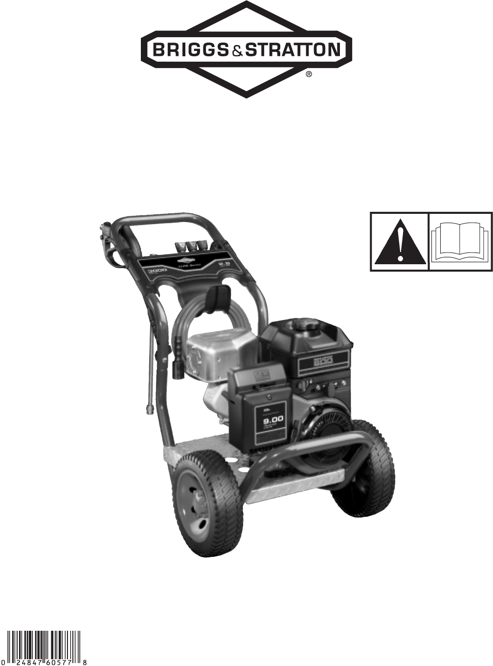 Briggs & Stratton Pressure Washer 020274-0 User Guide