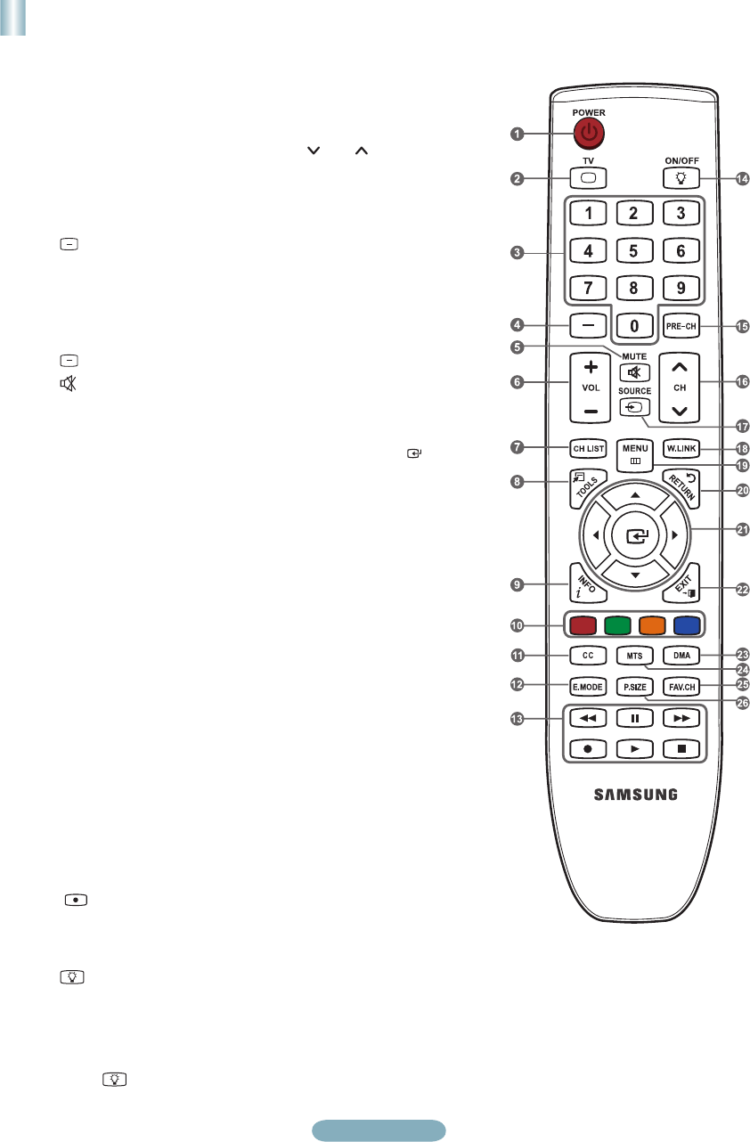 Page 13 of Samsung Flat Panel Television LN37A550P3F User