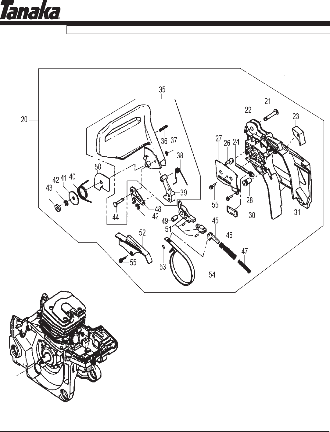 Page 10 of Tanaka Chainsaw ECV-5601 User Guide