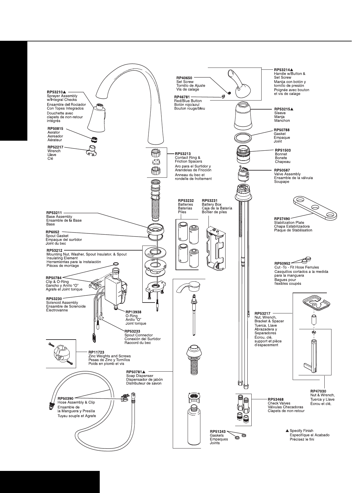 Delta Plumbing Product 980T-SD-DST Series User Guide