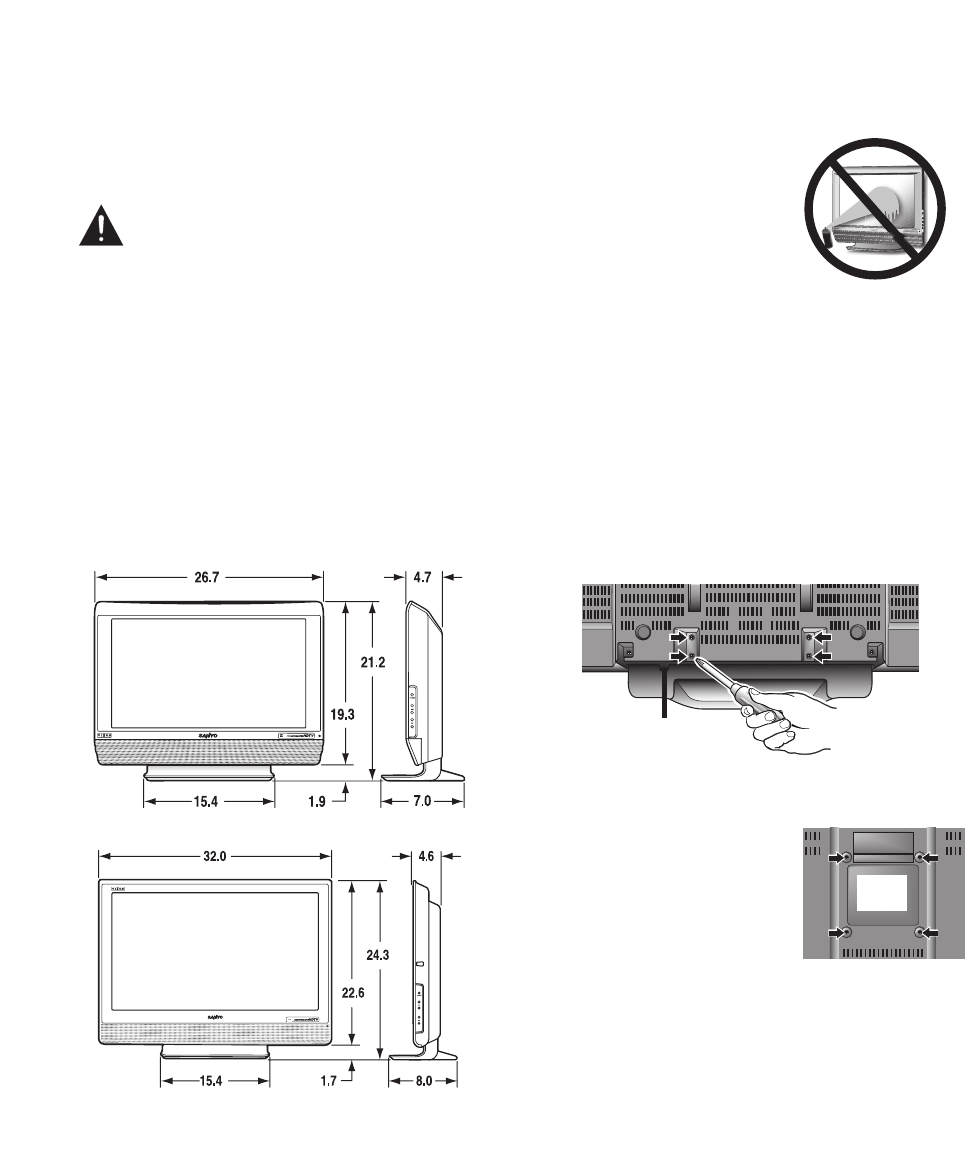 Page 4 of Sanyo Flat Panel Television DP32647 User Guide