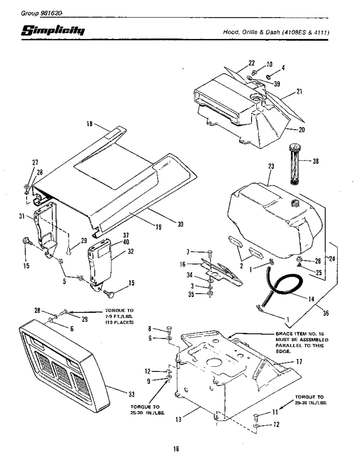 Page 18 of Simplicity Lawn Mower 4108 User Guide