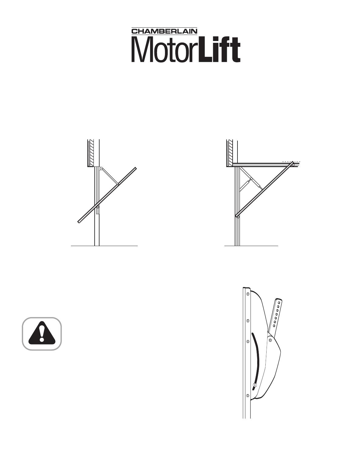 Chamberlain Garage Door Opener Eml User Guide