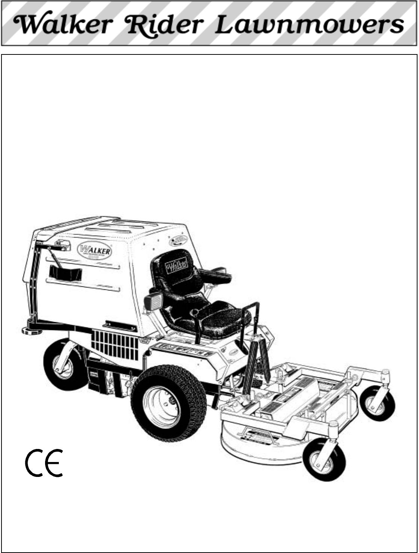 Walker Lawn Mower Ms 13 Hp User Guide