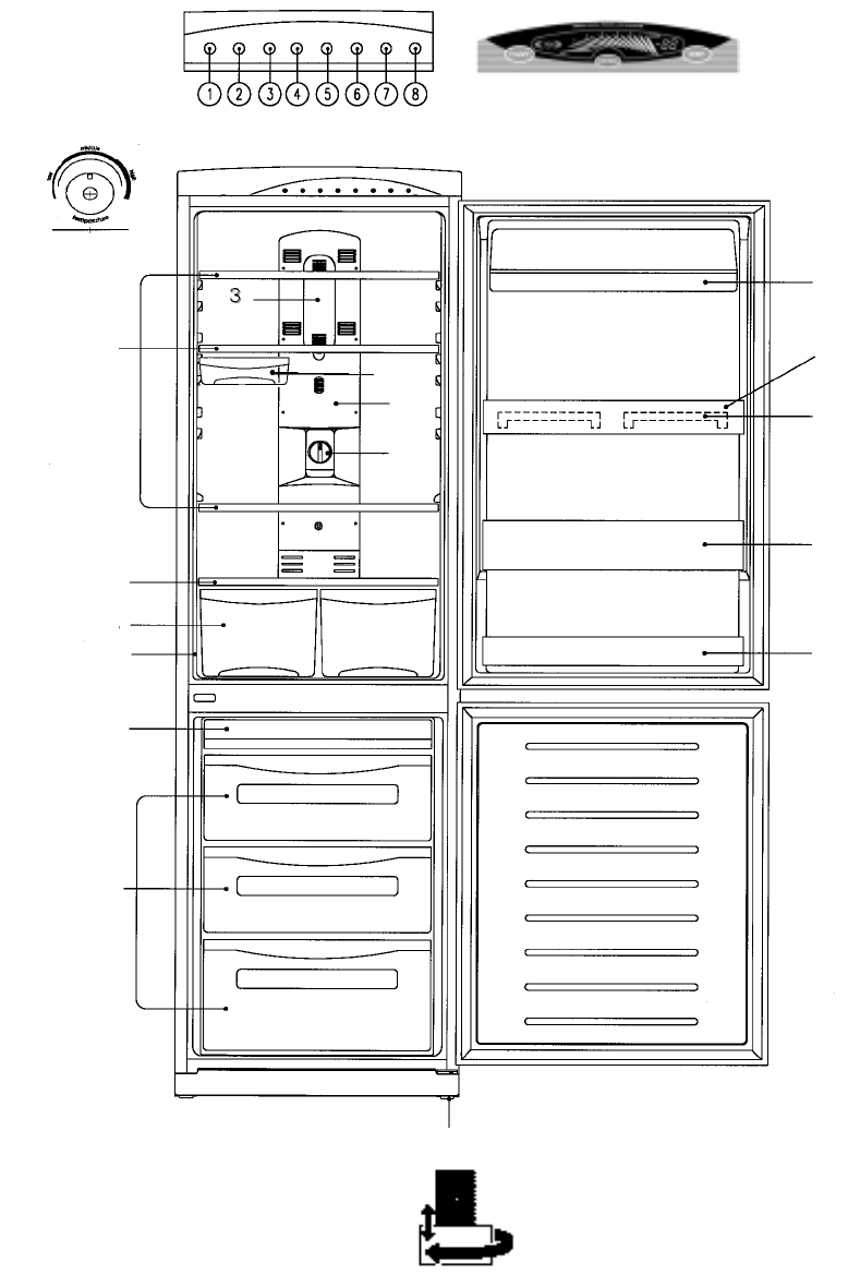 Page 60 of Daewoo Refrigerator RF-39.A User Guide