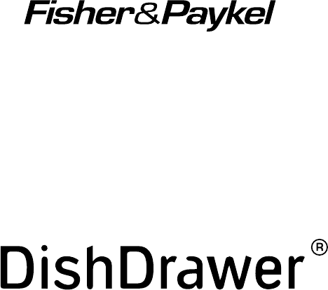 Fisher & Paykel Dishwasher DishDrawer User Guide