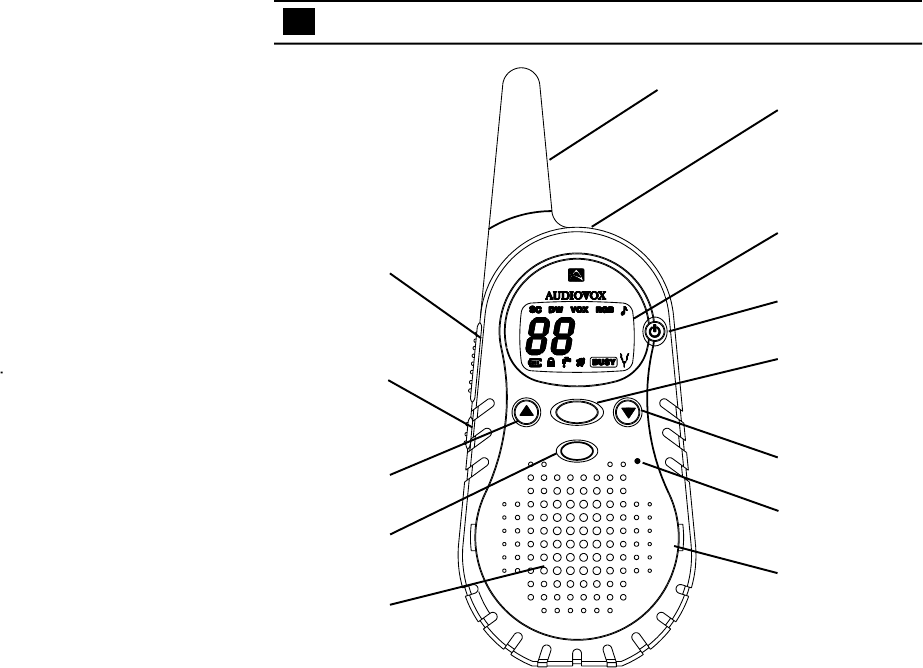 Page 4 of Audiovox Two-Way Radio FR1420 User Guide