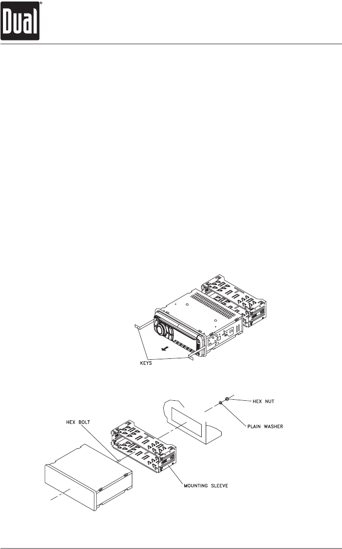 Page 2 of Dual Car Stereo System XD1225 User Guide