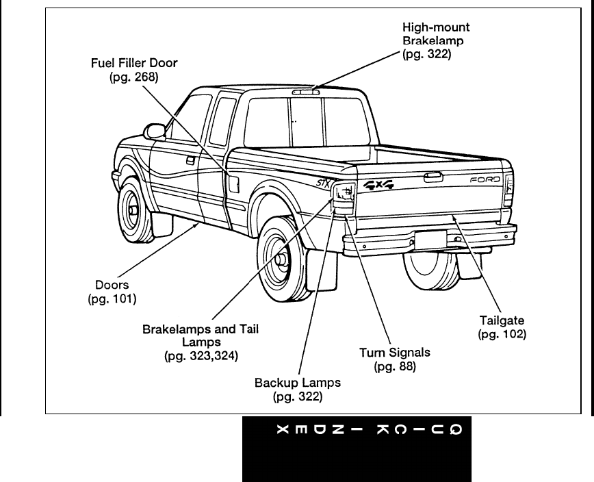 Page 338 of Ford Automobile Ranger User Guide