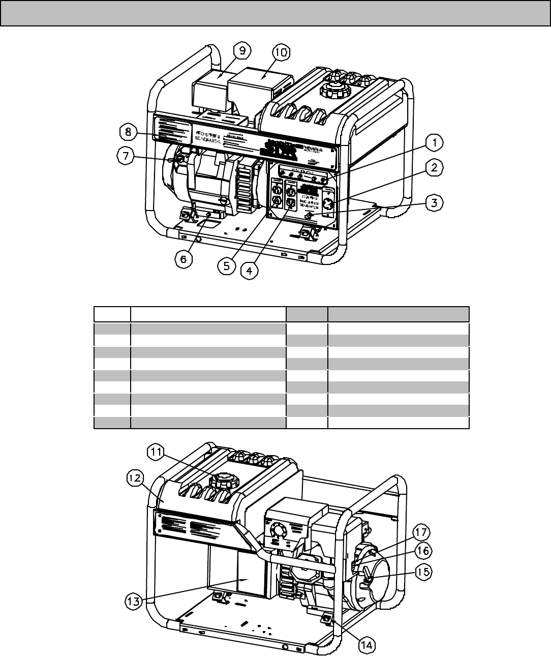 Page 4 of North Star Portable Generator 8000 PPG User