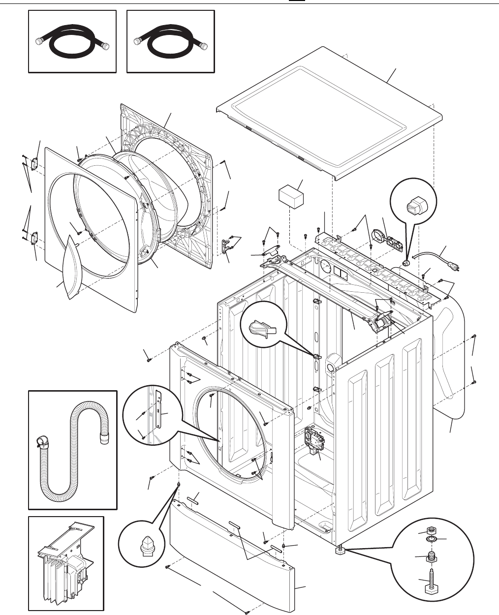 Page 4 of Sears Washer 417.44052400 User Guide