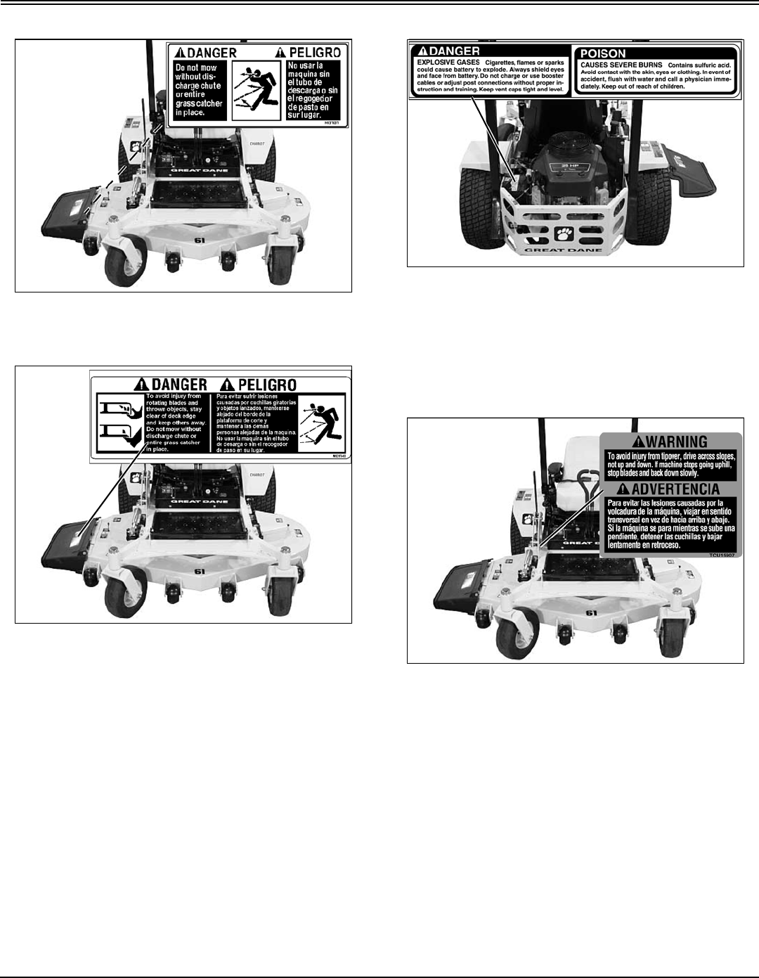 Page 5 of Great Dane Lawn Mower GBKH2752S User Guide